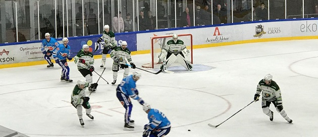 Bild von Die Adler treffen auf die Stavanger Oilers