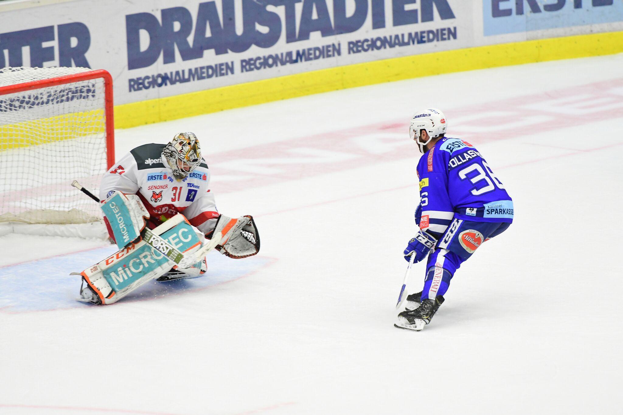 Bild von Villach erkämpft sich zwei Punkte gegen den Meister