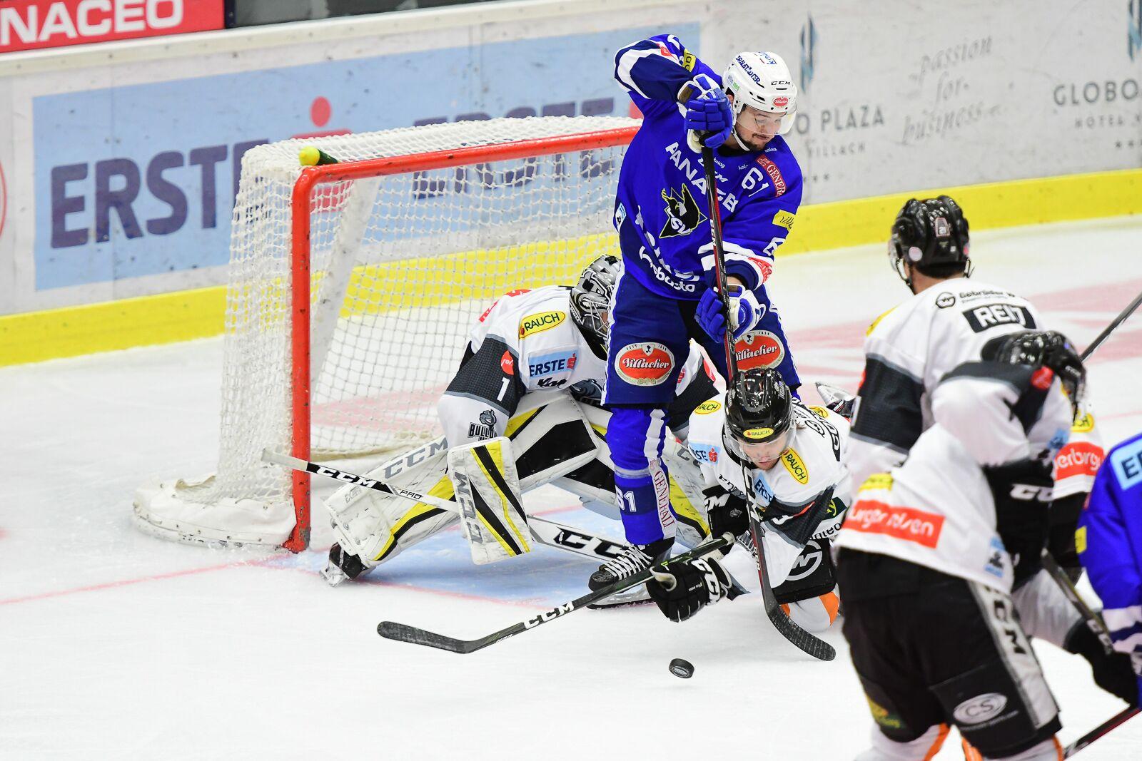 Bild von 3:2 Niederlage für den EC Panaceo VSV in Dornbirn