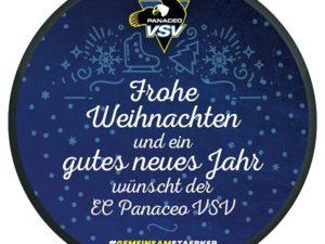 """Fan Puck """"Frohe Weihnachten"""""""