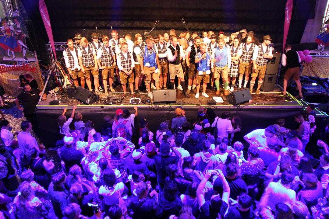 Bild von Teampräsentation am Villacher Kirchtag