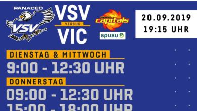 Photo of Neue Öffnungszeiten im VSV-Büro /  Hallenzutritt