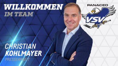 Bild von Christian Kohlmayer ist neuer Pressesprecher beim EC PANACEO VSV!