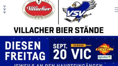 Bild von Gastro-Ausweitung: Zwei Villacher Bier-Stände vor der Halle!