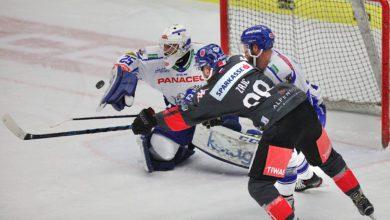 """Bild von Overtime-Niederlage gegen die """"Haie"""" aus Innsbruck!"""