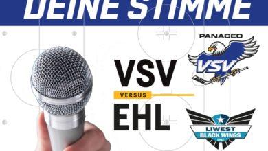 Bild von Ergebnis Tippspiel – EC PANACEO VSV vs Linz