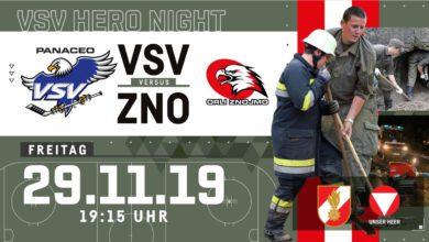 """Bild von Feine Geste: VSV lädt die Helfer zur """"Hero-Night"""" gegen Znaim ein!"""
