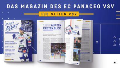 Bild von Blaues Bluat – Das Magazin des EC PANACEO VSV