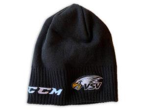ccm mütze mit Adlerkopf stick