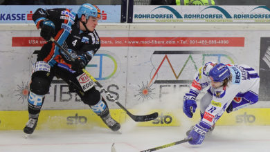 """Photo of VSV kassierte Niederlage gegen die """"Black Wings"""""""