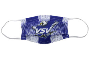 VSV Mund Nasen Maske Blau Weiss