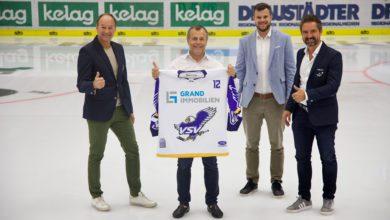 """Bild von Starke Partnerschaft: Neuer Hauptsponsor für die """"Adler"""" – aus EC VSV wird """"EC GRAND Immo VSV!"""""""