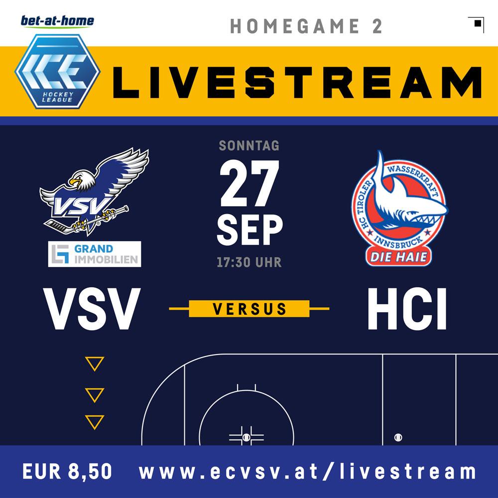 Livestream EC VSV vs HCI